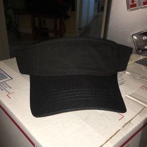 Stetson black visor one size